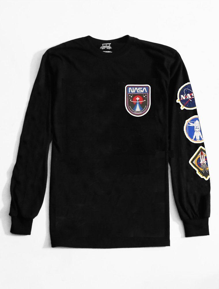 Long Sleeve T Shirt Space Cadet