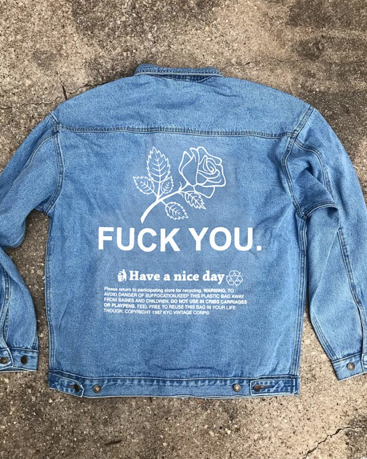 Thanks Rose Denim Jacket
