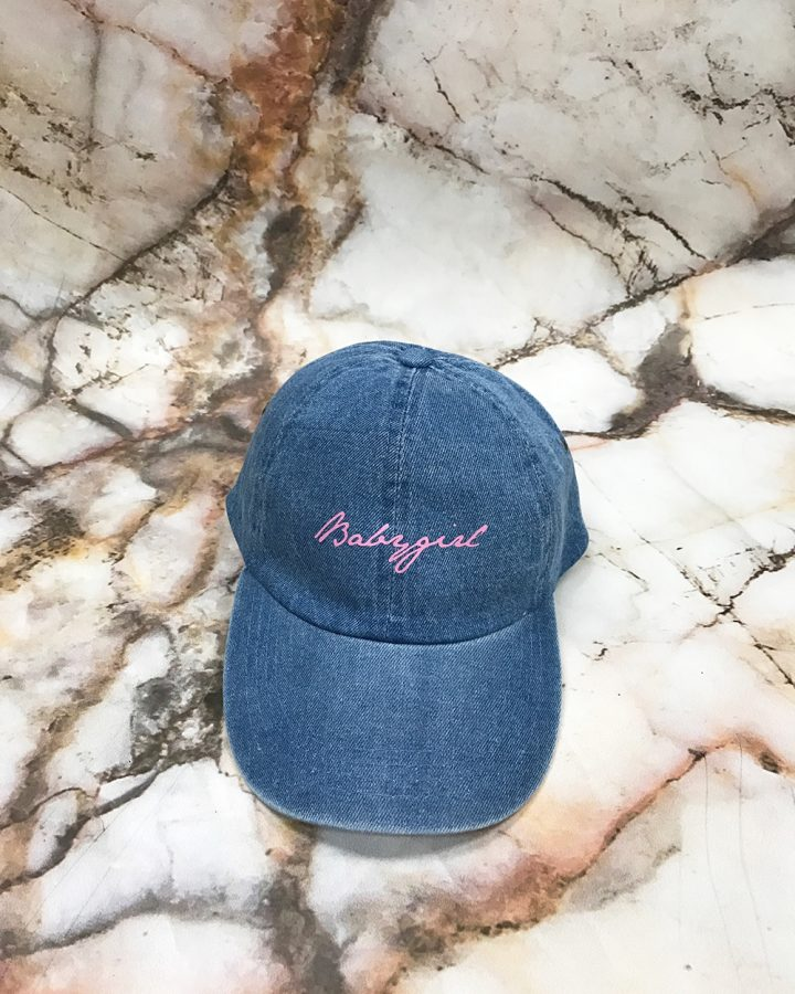 Blue Denim Hat Strapback
