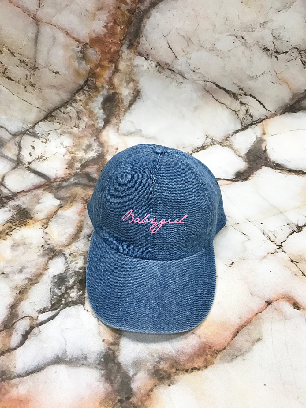 Blue Denim Hat Strapback