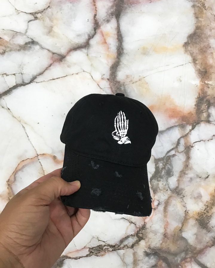 Distressed Prayer Bones Hat