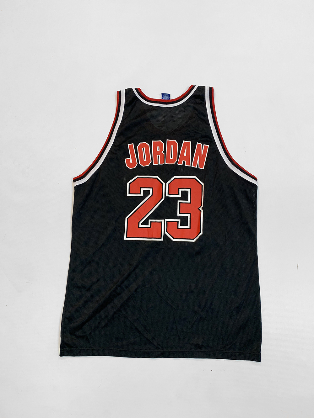 watch 032e0 07d6f Champion Chicago Bulls Michael Jordan Jersey XL - KYC Vintage